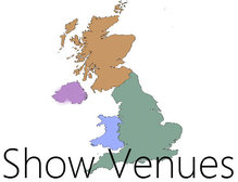 Picture of a map with a link for show venues page